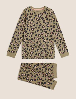 Cotton Leopard Pyjamas (7-16 Yrs)