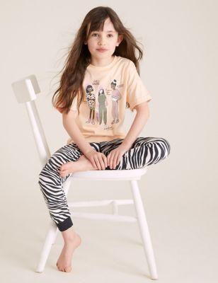 Pure Cotton Girls Unite Pyjamas (6-16 Yrs)