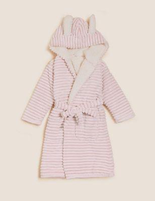 Fleece Bunny Dressing Gown (6-16 Yrs)