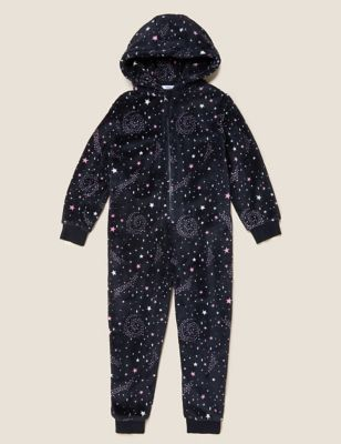 Fleece Constellation Onesie (6-16 Yrs)