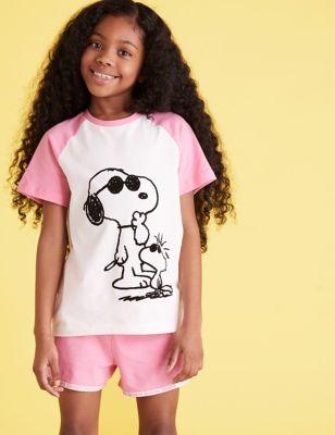 Snoopy™ Short Pyjama Set (6-16 Yrs)