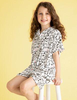 Friends™ Short Pyjama Set (8-16 Yrs)