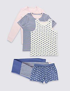 T86/2740: 3 Pack Assorted Pyjamas (3-16 Years)
