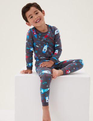Cotton Space Pyjamas (1-7 Yrs)