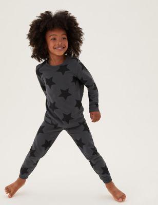 3pk Cotton Print Pyjama Sets (1-7 Yrs)