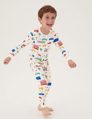 Cotton Transport Pyjamas (1-7 Yrs)