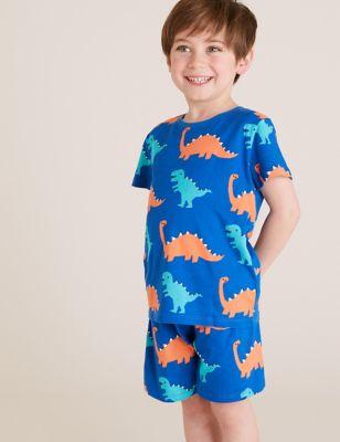 3pk Pure Cotton Short Pyjama Set (1-7 Yrs)