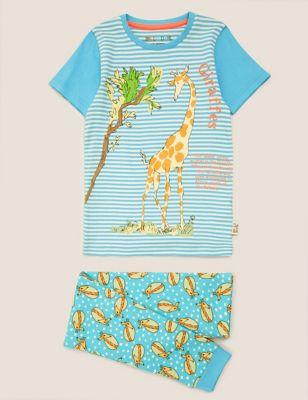Roald Dahl™ & NHM™ Giraffe Pyjama Set (1-10 Yrs)