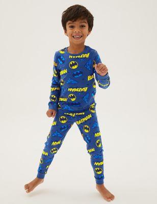 Batman™ Cotton Pyjamas (3-12 Yrs)