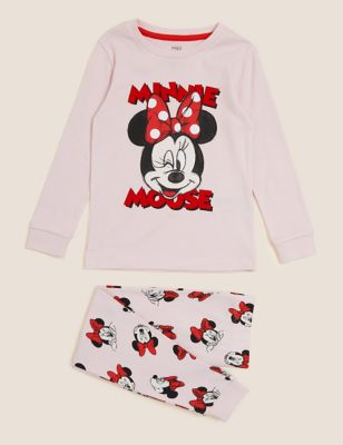 Minnie™ Pure Cotton Pyjama Set (2-10 Yrs)