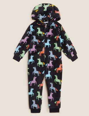 Fleece Unicorn Onesie (12 Mths - 7 Yrs)