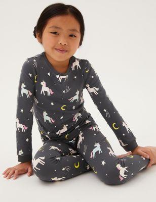 Cotton Unicorn Pyjamas (12 Mths - 7 Yrs)
