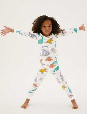 Cotton Dinosaur Pyjamas (1-7 Yrs)