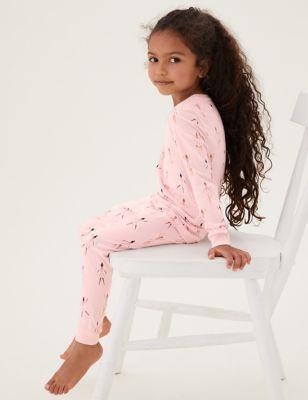 Cotton Ballerina Pyjamas (1-7 Yrs)