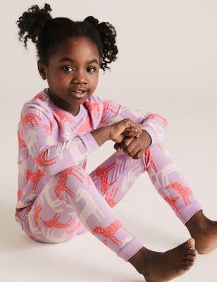 Cotton Unicorn Pyjama Set (1-7 Yrs)