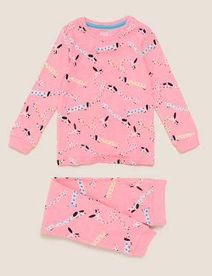 Cotton Dog Pyjama Set (1-7 Yrs)