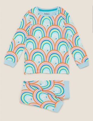 Cotton Rainbow Pyjama Set (1-7 Yrs)