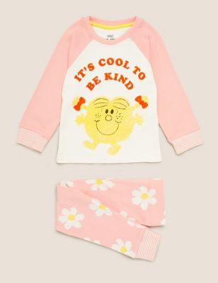 Pure Cotton Little Miss™ Pyjama Set (1-7 Yrs)
