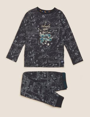 Harry Potter™ Marauders Map Pyjamas (2-16 Yrs)