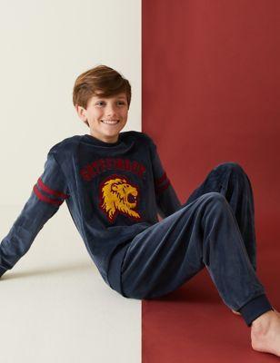 Harry Potter™ Gryffindor Velour Pyjamas (2-16 Yrs)