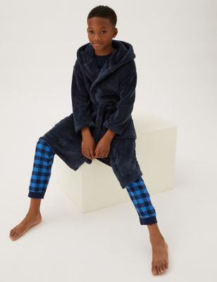 Fleece Dressing Gown (6-16 Yrs)