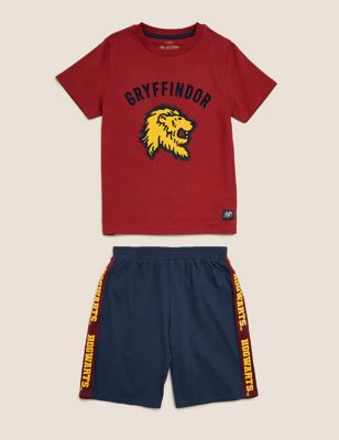 Harry Potter™ Gryffindor Short Pyjama Set (6-16 Yrs)