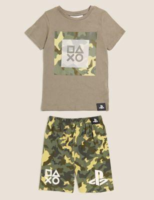 PlayStation™ Short Pyjama Set (6-16 Yrs)