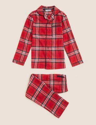 Kids' Checked Family Pyjama Set (1-16 Yrs)