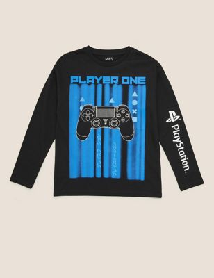 Pure Cotton PlayStation™ Top (6-16 Yrs)