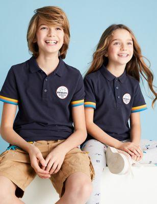Harry Potter™ Pure Cotton Polo Shirt (6-16 Yrs)