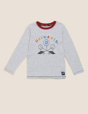 Harry Potter™ Hogwarts Cotton Top (2-16 Yrs)