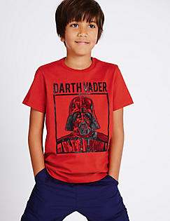 T87/2332C: Pure Cotton Star Wars™ T-Shirt (3-14 Years)