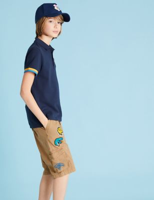 Pure Cotton Harry Potter™ Cargo Shorts (6-16 Yrs)