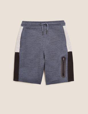 Cotton Side Stripe Shorts (6-16 Yrs)