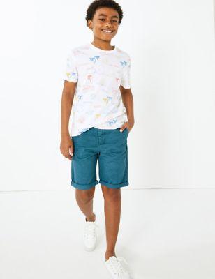 Cotton Chino Shorts (6-16 Yrs)