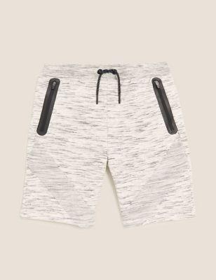 Cotton Sporty Shorts (6-16 Yrs)