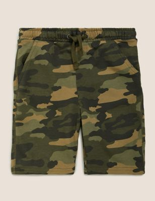 Cotton Camouflage Shorts (6-14 Yrs)