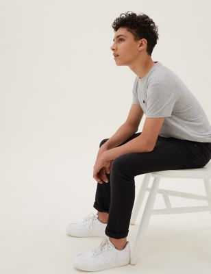 The Jones Regular Fit Cotton with Stretch Jeans (6-16 Yrs)