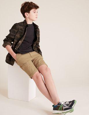 Cotton Chino Shorts (6-14 Yrs)