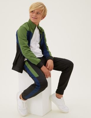 Cotton Tricot Joggers (6-16 Yrs)