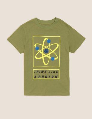 Pure Cotton Proton T-Shirt (6-16 Yrs)
