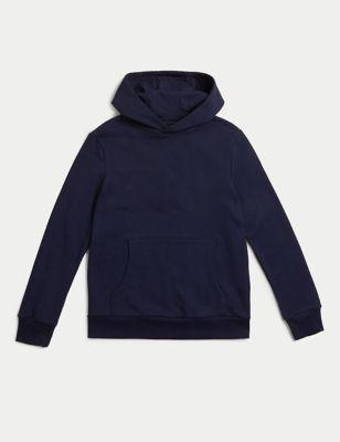 Cotton Hooded Sweatshirt (6-16 Yrs)