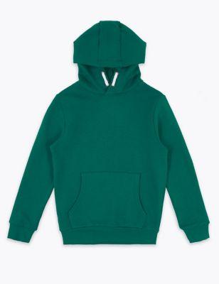 Unisex Cotton Hooded Sweatshirt (6-16 Yrs)