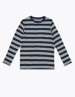 Cotton Striped Top (6-16 Yrs)