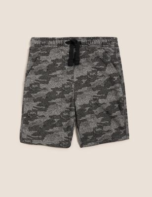 Cotton Camouflage Shorts (6-16 Yrs)