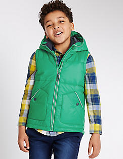 T87/6165Y: Padded 2 Pocket Gilet (3-14 Years)