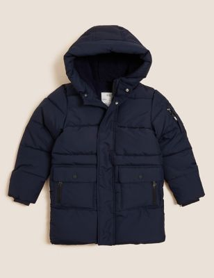 Camouflage Hooded Padded Coat (6-16 Yrs)