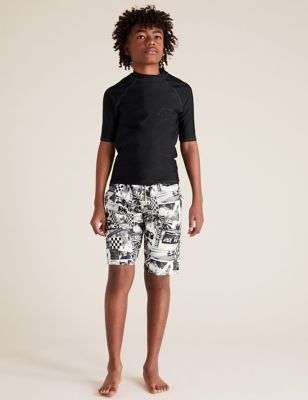 Photographic Ride The Waves Board Shorts (6-14 Yrs)