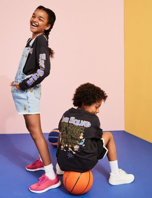 Space Jam: A New Legacy™ Pure Cotton Top (6-16 Yrs)