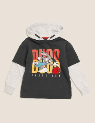 Space Jam: A New Legacy™ Cotton Hoodie (6-16 yrs)